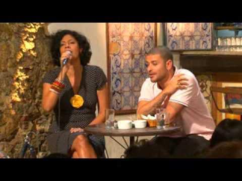 Sanny Alves no programa Samba na Gamboa