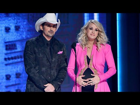CMAs 2018: Carrie Underwood Reveals She's Expecting Another Son In Hilarious Gag | Access