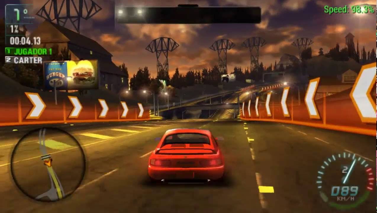 Psp Need Speed Carbon Own City