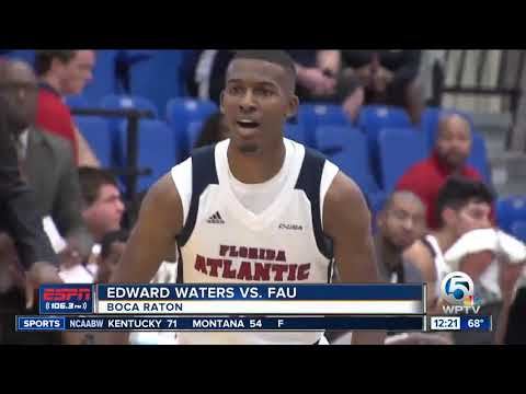 FAU Basketball Picks Up First Win