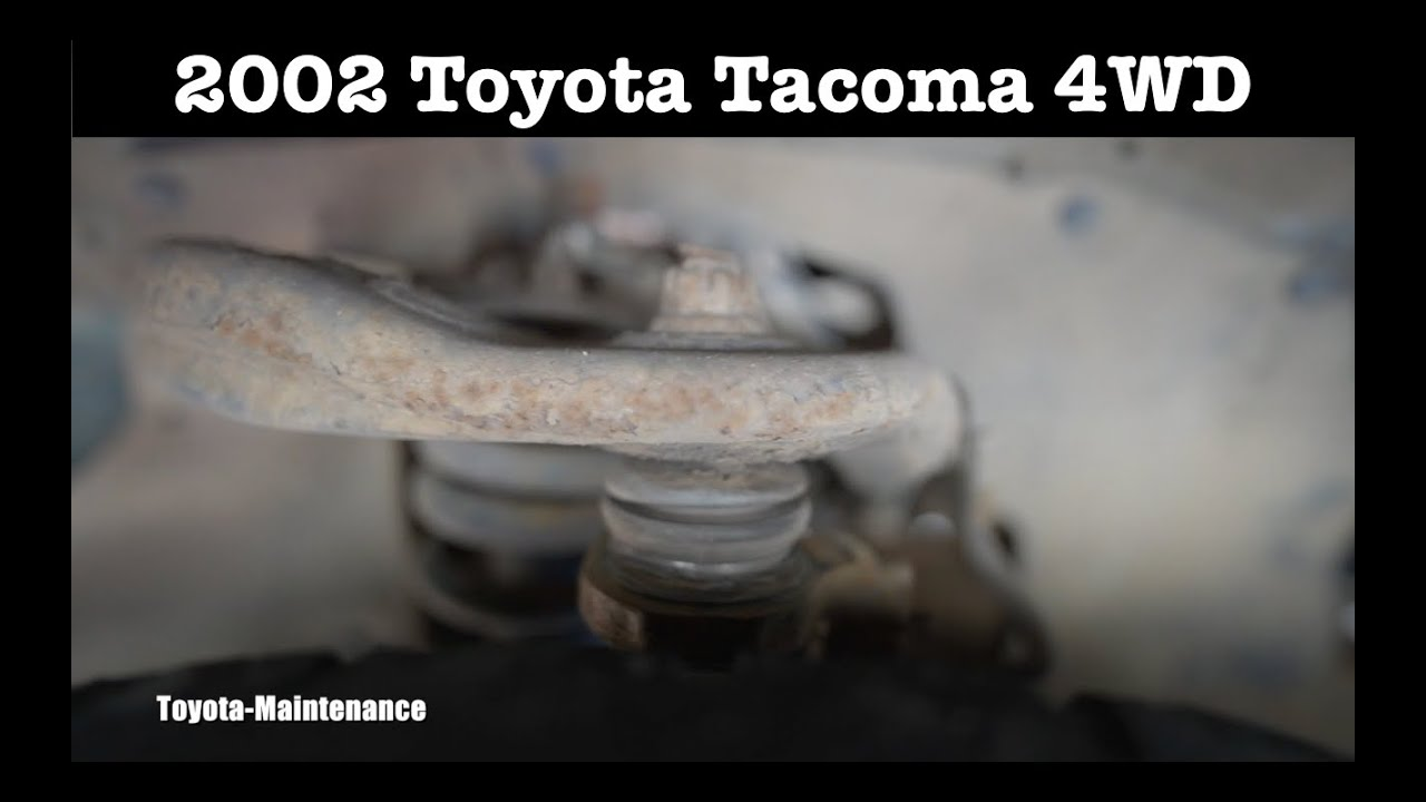Toyota Tacoma upper ball joint testing