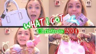 What I Got For Christmas 2014: Haul