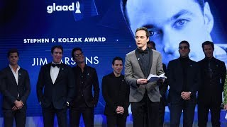 Jim Parsons honored by Ryan Murphy, cast mates | 29th Annual GLAAD Media Awards