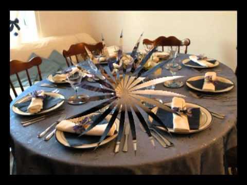 decorazione tavola di natale - youtube - Decorazioni Natalizie Tavola