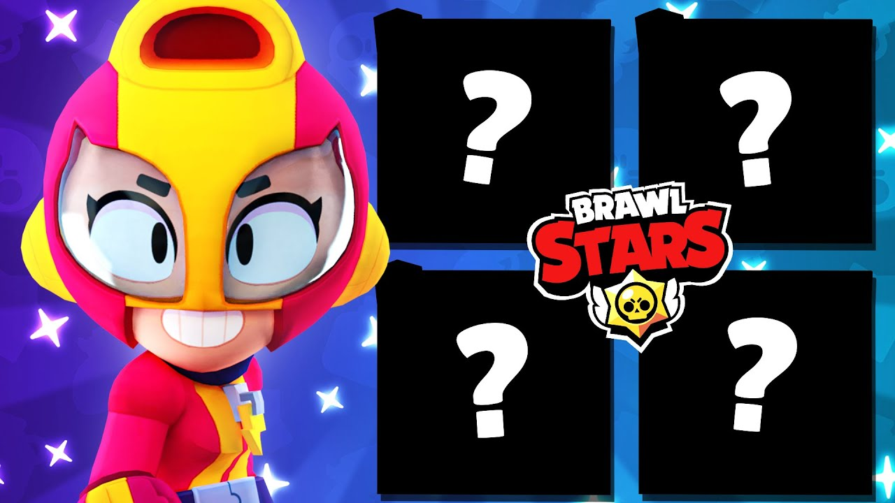 THE TOP 4 BRAWLERS in BRAWL STARS!