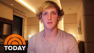YouTube Star Logan Paul Apologizes For Video Of Apparent Suicide Victim   TODAY