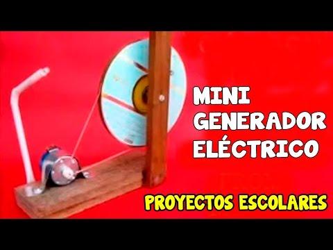 Como hacer una maqueta de pulmones caseros que respiran - Mini generador electrico ...