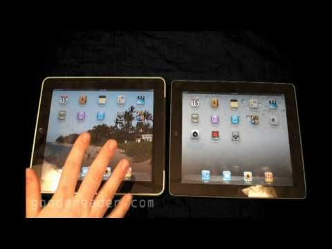 Apple iPad 1 and Apple iPad 2 Comparison