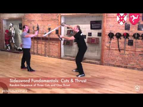 Three Cuts and Thrust - Sidesword Exercises