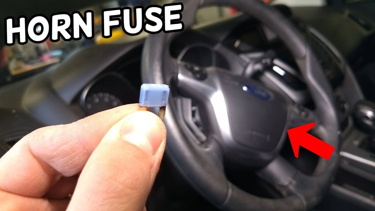 horn fuse location and replacement ford focus mk3 2012-2018