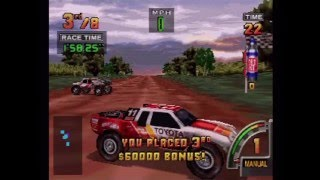 Off Road Challenge Playthrough (Actual N64 Capture) - Rookie Circuit