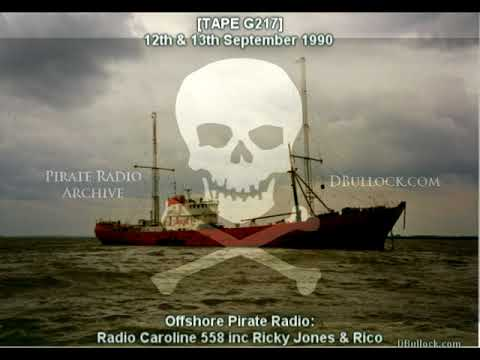 [G217] Radio Caroline 558 ~ 12-13/09/1990 ~ Offshore Pirate Radio