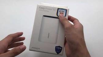 Sạc Dự Phòng Pisen Easy Power 5C 10000mAh ( Type-C, USB Smart )