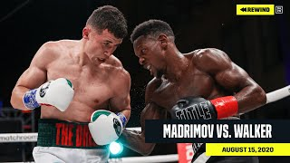 FULL FIGHT | Israil Madrimov vs. Eric Walker (DAZN REWIND)