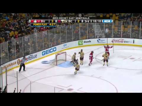 Boston University vs. Boston College - Hockey East Semifinal - 3/22/2013
