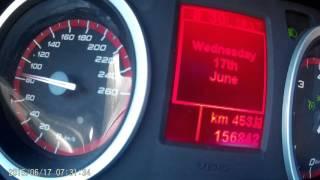 Alfa Romeo 159 2.4 JTDm 209 HP acceleration 0-180 km/h