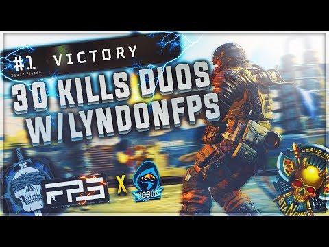 CoD Blackout | 30 KILLS DUOS WIN w/ LyndonFPS