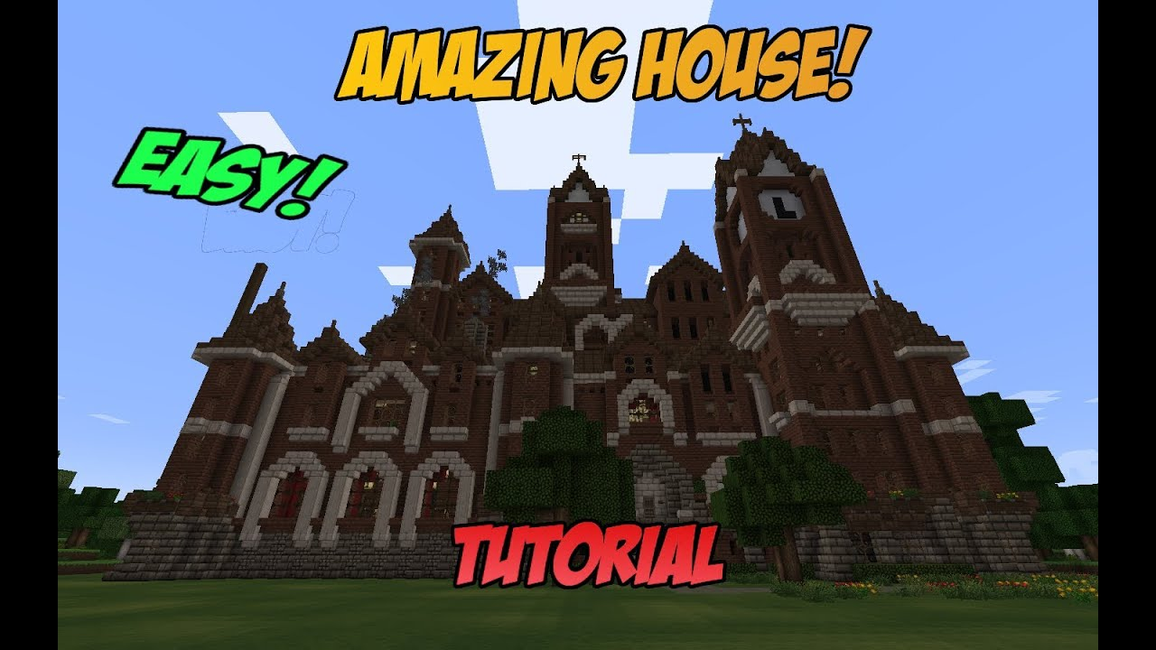 Minecraft Tutorial Build Amazing Epic House - Year of Clean