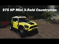 Extreme Offroad Silly Builds - 2014 Mini X-Raid All 4 Racing Countryman (Forza Horizon 3)