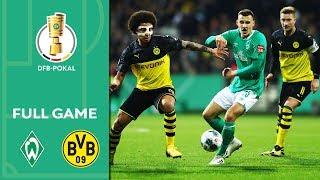 Werder Bremen vs. Borussia Dortmund 3-2 | Full Game | DFB-Pokal 2019/20 | Round of 16