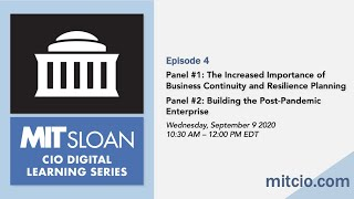 MIT Sloan CIO Digital Learning Series -- Episode #4