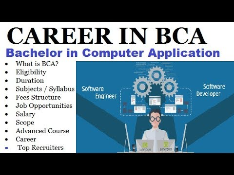 BEST CAREER IN BCA COURSE - Bachelor Of Computer Application - FULL DETAIL