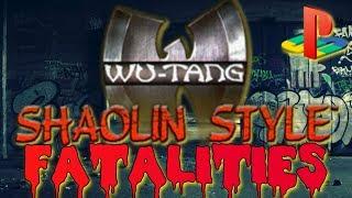 Wu-Tang: Shaolin Style/Taste the Pain - All Fatalities GLSL + Bezel 60fps!