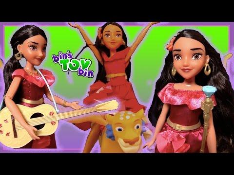 ELENA OF AVALOR!!  Newest Disney Princess!! Singing, Flying & Ready to Rule! BinsToyBin