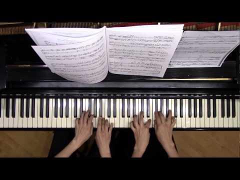 Four Bach Transcriptions by György Kurtág - 20 Digitus Duo