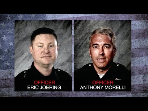 Memorial service held for 2 Ohio police officers killed