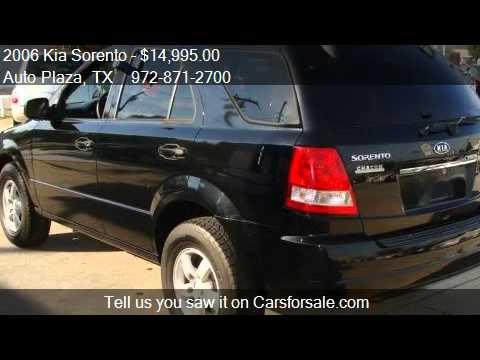 2006 Kia Sorento LX 4WD   For Sale In Irving, TX 75061
