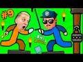 ПОБЕГ ИЗ ТЮРЬМЫ Стикман в игре One LEVEL 2 #9 Сложный Побег Стикмана! Детский ЛеТсплей от Папы FFGTV