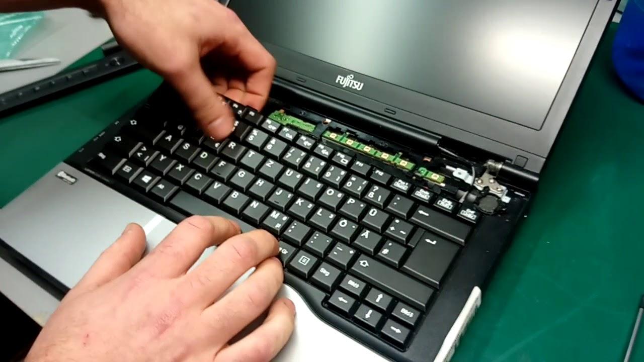 Fujitsu LifeBook E8310 Keyboard Repair Guide ...