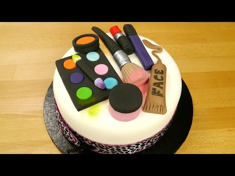 How To Make A Groovy Make Up Cake