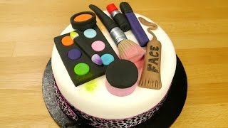 How To Make A Groovy Make Up Cake