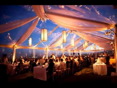 Easy Wedding tent decorations & Easy Wedding tent decorations - YouTube