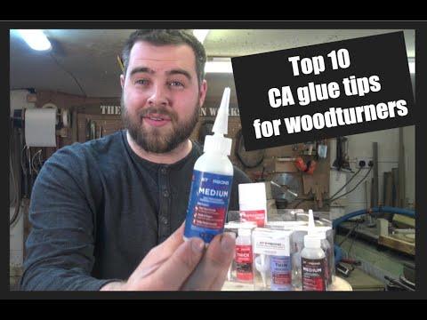 CA Glue Tips For Woodturners