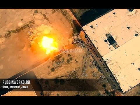Video Russia posts Syria attack drone footage amid propagand