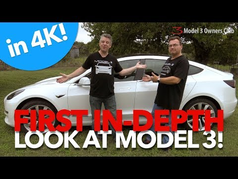 First In-Depth look at the Tesla Model 3 | Model 3 Owners Club