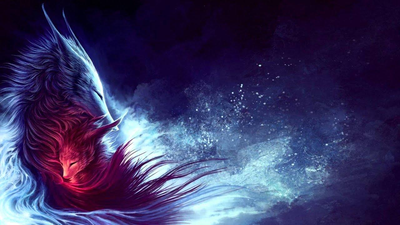 Dark Magic Anime Wolves