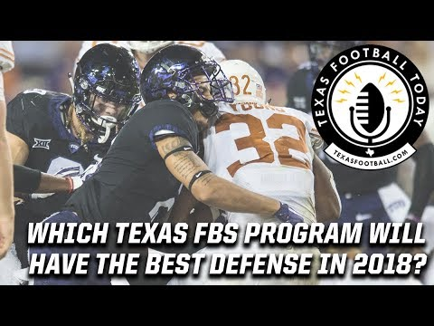 Which Texas FBS programs will have the best defenses in 2018?