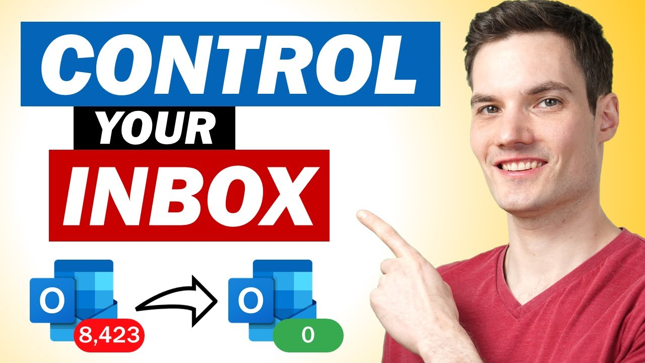 10 Tips to Take Control of Your Outlook Inbox & avoid email overload!