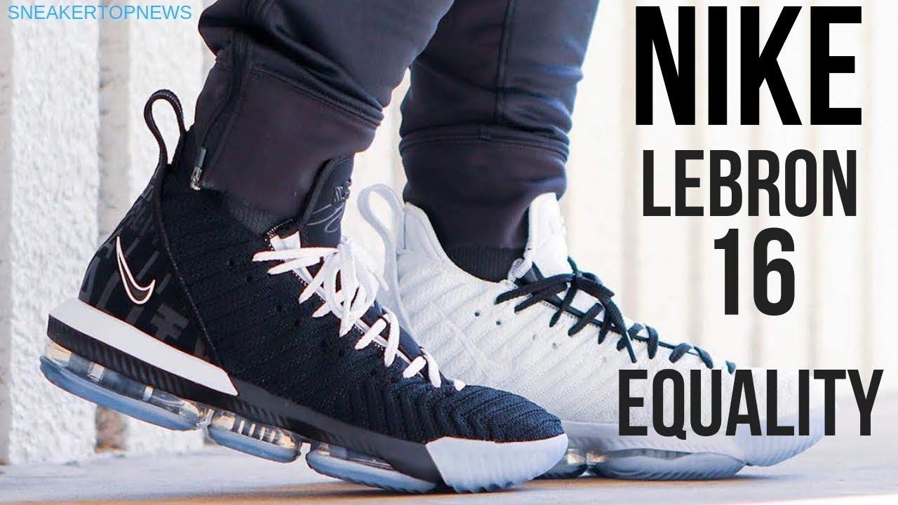 "681e02b3c8a The Nike LeBron 16 ""Equality"" Pack Features Two Alternate Styles ..."