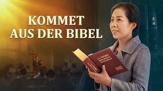 KOMMET AUS DER BIBEL Christliche Filme Trailer HD - An die Bibel zu glauben, ist an Gott zu glauben?