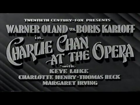 10   Charlie Chan at the opera 1936 Excellent