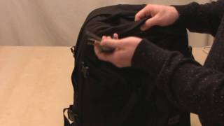 Tom Bihn Brain Bag and Brain Cell Demo