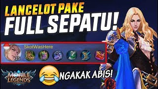 6 SEPATU BUAT LANCELOT? NGAKAK ABIS! - Mobile Legend Indonesia