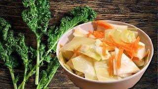 Капуста Провансаль. Быстрый рецепт.  Cabbage salad. Салат из капусты быстро и вкусно.
