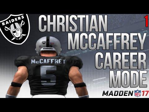Christian McCaffrey Madden 17 Career Mode - NFL Debut - Ep. 1