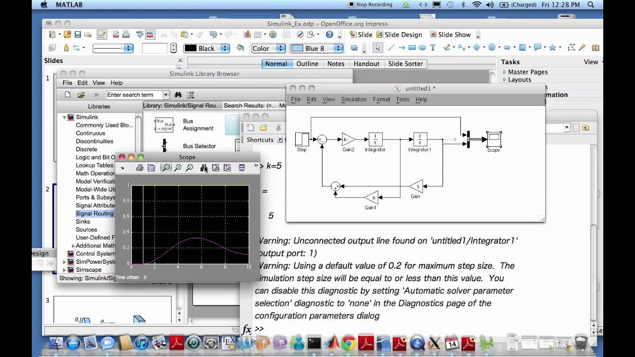 Simulink Modeling Of A Spring Mass Damper System Youtube Developing Mathematical Models Rotating Mechanical Systems